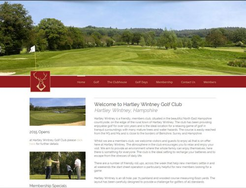 Hartley Wintney Web Site
