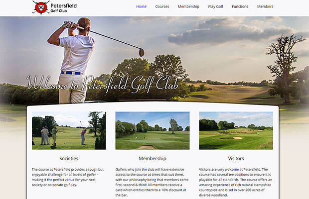 Imagination provides Petersfield with a new web presence!