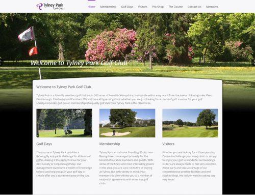 Tylney Park New Web Site