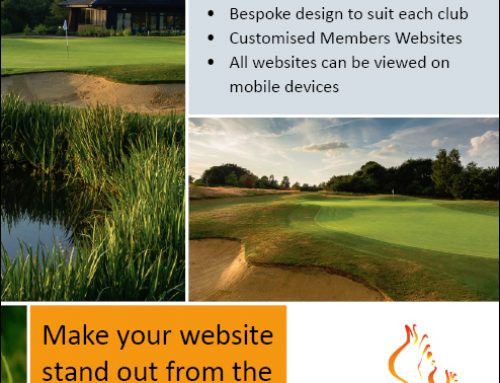 Imagination advertises in Golf Club Management magazine