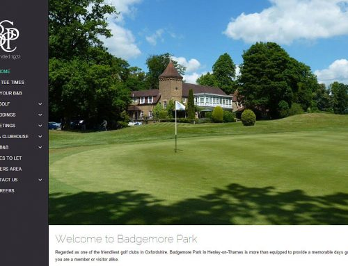 Badgemore Park – New Website