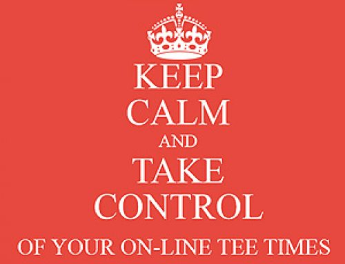 Take Control of Your Online Tee Times!